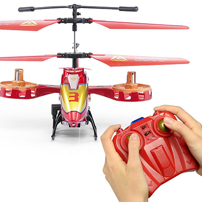 Best Indoor RC Helicopter - GPTOYS 4 Channel RC Helicopter