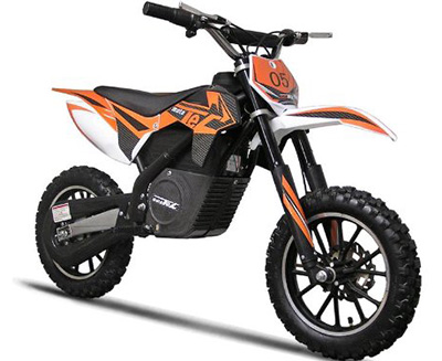 Electric Dirt Bike for Kids by Mototec