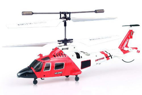 RC Helicopter with Gyro - Syma S111G